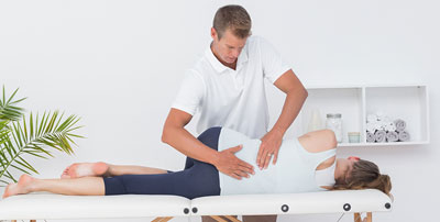 body pain with physiotherapy